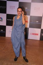 Adhuna Akhtar at GQ Fashion Nights Red Carpet on 1st Dec 2015