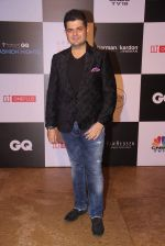Dabboo Ratnani at GQ Fashion Nights Red Carpet on 1st Dec 2015