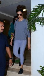 Deepika Padukone snapped at recording on 1st Dec 2015