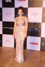 Dia Mirza at GQ Fashion Nights Red Carpet on 1st Dec 2015