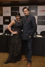 Mandira Bedi at GQ Fashion Nights Red Carpet on 1st Dec 2015