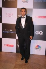 Marc Robinson at GQ Fashion Nights Red Carpet on 1st Dec 2015