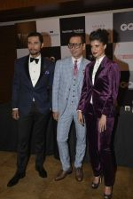 Tina Desae, Randeep Hooda at GQ Fashion Nights Red Carpet on 1st Dec 2015