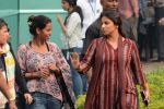 Vidya Balan on location in Kolkata on 1st Dec 2015