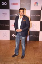 Zaheer Khan at GQ Fashion Nights Red Carpet on 1st Dec 2015