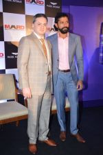 Farhan Akhtar promotes mard with gautam singhania on 3rd Dec 2015 (12)_56605feb7a375.JPG