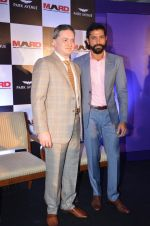 Farhan Akhtar promotes mard with gautam singhania on 3rd Dec 2015 (14)_56605fec301c7.JPG