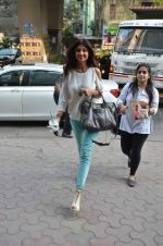 Shilpa Shetty snapped at lower parel on 2nd Dec 2015