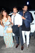 Karan Singh Grover, Rocky S and Bipasha Basu snapped at PVR on 4th Dec 2015 (29)_5662d74f9e561.JPG