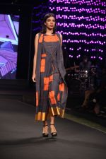 Model walk the ramp on the 2nd Day of Blenders Pride Fashion Tour in Grand Hyatt on 5th Dec 2015
