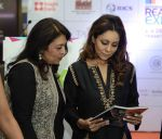 Gauri khan during the Lamp Lighting & Inauguration of IREX International Real Estate Expo 2015 in Delhi on 4th Dec 2015 (95)_566533c3cf766.JPG