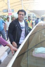 Govinda snapped at the airport on 6th Dec 2015
