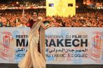 Madhuri Dixit and Richa at Marrakech festival on 7th Dec 2015 (27)_566695bcc4e85.JPG