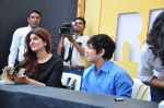 Twinkle Khanna, Aarav Kumar at Times Lit Fest on 6th Dec 2015