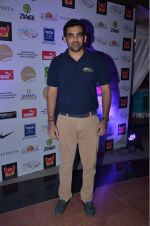 Zaheer Khan at fitness Centre on 6th Dec 2015
