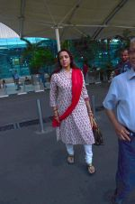 Hema Malini snapped at airport on 8th Dec 2015