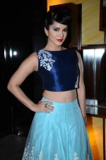 Sunny Leone in designer Mayyur Girotra Couture on 9th Dec 2015