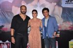 Kajol, Shahrukh Khan, Rohit Shetty at Dilwale press meet on 11th Dec 2015