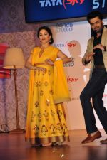 Madhuri Dixit launches dance channel on tata sky on 10th Dec 2015 (27)_566a887330f40.JPG