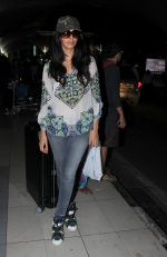 Mallika Sherawat snapped at Airport on 10th Dec 2015