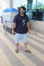 Pritam Chakraborty snapped at airport on 12th Dec 2015