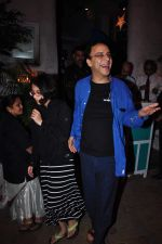 Vidhu Vinod Chopra snapped outside Olive on 12th Dec 2015