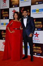 Gurmeet Chaudhary, Debina Banerjee at Big Star Awards in Mumbai on 13th Dec 2015 (69)_566eb1ea96b37.JPG