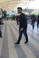 Jackky Bhagnani snapped at airport in Mumbai on 13th Dec 2015