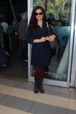 Monica Bedi snapped at airport in Mumbai on 13th Dec 2015