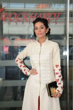 Amrita Rao at Wockhard hospital in Mira Road on 14th Dec 2015 (15)_566fd33a6e39a.JPG