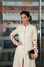 Amrita Rao at Wockhard hospital in Mira Road on 14th Dec 2015
