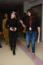 Elli Avram at Wockhard Hospitaal in Mira Road on 14th Dec 2015