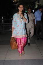 Juhi Chawla snapped at airport on 14th Dec 2015
