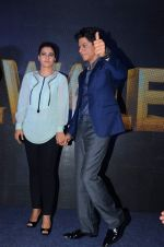 Kajol, Shahrukh Khan at Dilwale music celebrations by Sony Music on 14th Dec 2015