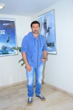 Sunny Deol at Point Break film screening on 14th Dec 2015