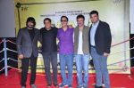 Rajkumar Hirani, Madhavan, Siddharth Roy Kapur, Ronnie Screwvala, Vidhu Vinod Chopra at Saala Khadoos film promotion on 15th Dec 2015 (42)_56710cf8d14a0.JPG