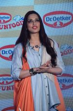 Sonali Bendre at Fun Food launch on 16th Dec 2015 (8)_56726b2d420b9.JPG