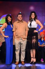 Sunny Leone and Ekta Kapoor at Colors Box Cricket League launch on 16th Dec 2015 (69)_56726a3b529af.JPG