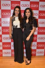 Tara Sharma at Shivani Awasty collection launch at AZA on 16th Dec 2015