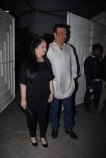 Anu Malik at Bajirao Mastani screening in Sunny Super Sound on 17th Dec 2015