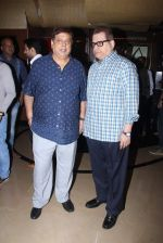 David Dhawan at Bajirao Mastani screening in Sunny Super Sound on 17th Dec 2015