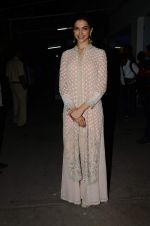 Deepika Padukone at Bajirao Mastani screening in Sunny Super Sound on 17th Dec 2015