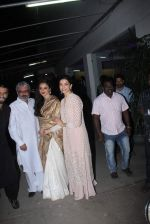 Deepika Padukone, Ranveer Singh, Rekha, Sanjay Leela Bhansali at Bajirao Mastani screening in Sunny Super Sound on 17th Dec 2015