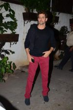 Hrithik Roshan at Bajirao Mastani screening in Sunny Super Sound on 17th Dec 2015