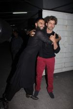 Hrithik Roshan, Ranveer Singh at Bajirao Mastani screening in Sunny Super Sound on 17th Dec 2015
