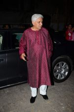 Javed Akhtar at Bajirao Mastani screening in Sunny Super Sound on 17th Dec 2015