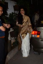 Rekha at Bajirao Mastani screening in Sunny Super Sound on 17th Dec 2015