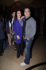 Sajid Nadiadwala, Aarti Surendranath  at Bajirao Mastani screening in Sunny Super Sound on 17th Dec 2015