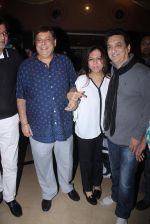 Sajid Nadiadwala, David Dhawan at Bajirao Mastani screening in Sunny Super Sound on 17th Dec 2015