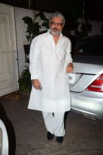 Sanjay Leela Bhansali at Bajirao Mastani screening in Sunny Super Sound on 17th Dec 2015